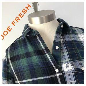 JOE FRESH Flannel Shirt